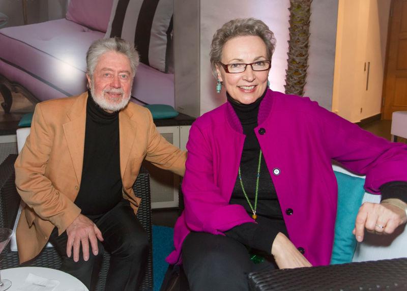 Gerhard Jordan und Christa Rickert
