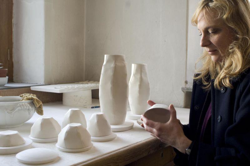 Porzellan Manufaktur Nymphenburg: Lightscape Serie von Ruth Gurvich.