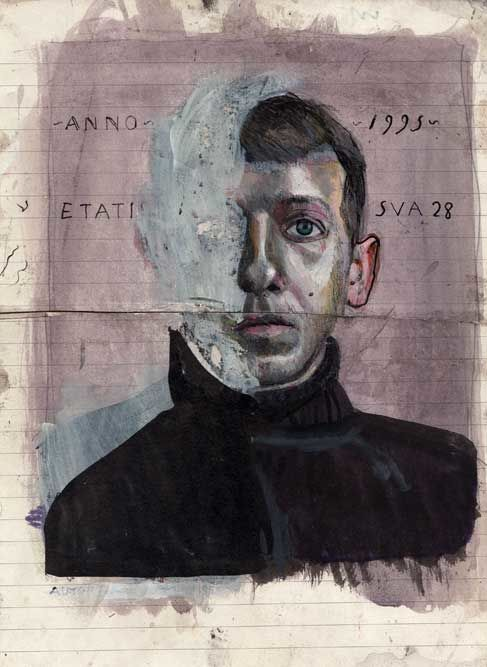 Andrea Ventura, Selbstporträt
