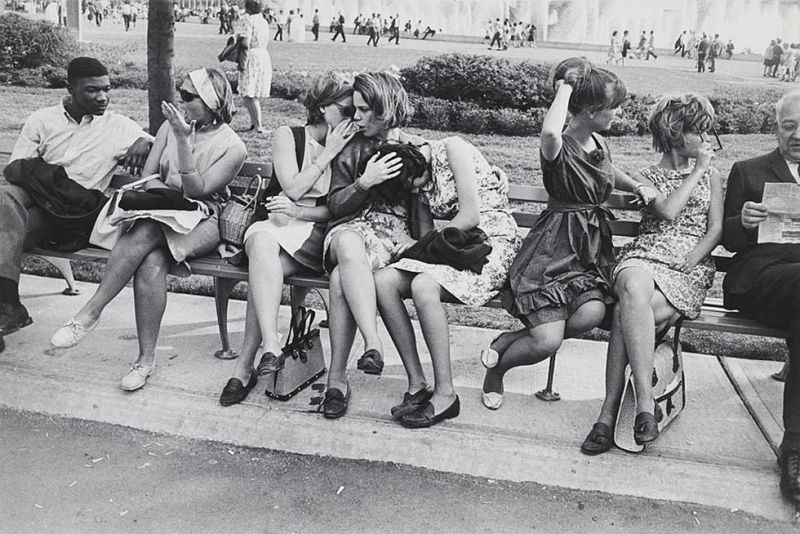 Garry Winogrand (American, 1928–1984) New York World's Fair 1964 Gelatin silver print San Francisco Museum of Modern Art, Gift of Dr. L.F. Peede, Jr.