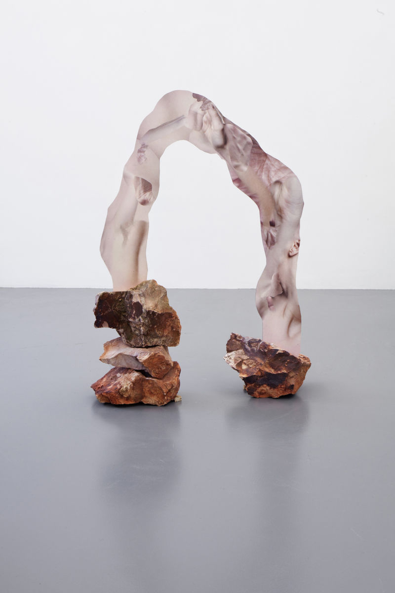 web_7) Rachel de Joode, Sculpted Human Skin in Rock I, 2014