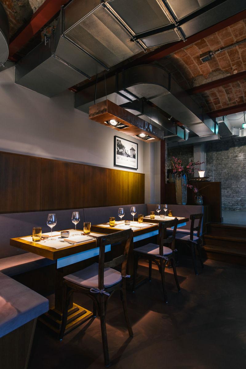 Das Restaurant STUDIO von Tim Raue