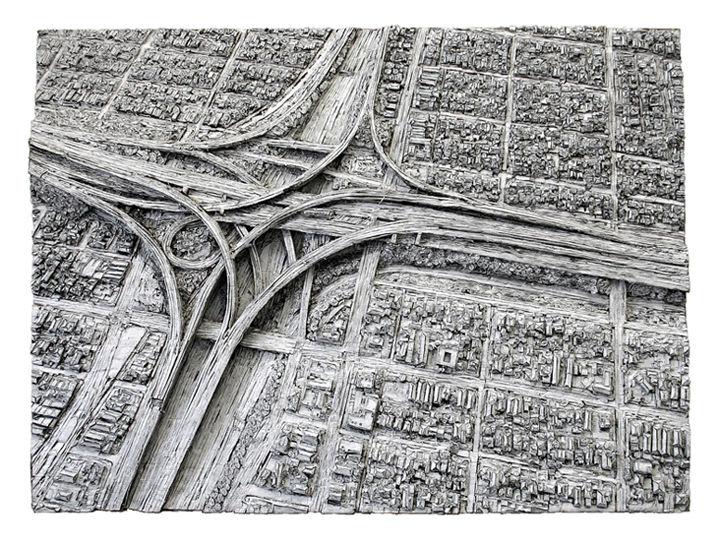 Autobahnkreuz2Ausgeschnitten(150cm x 200cm) 600dpi
