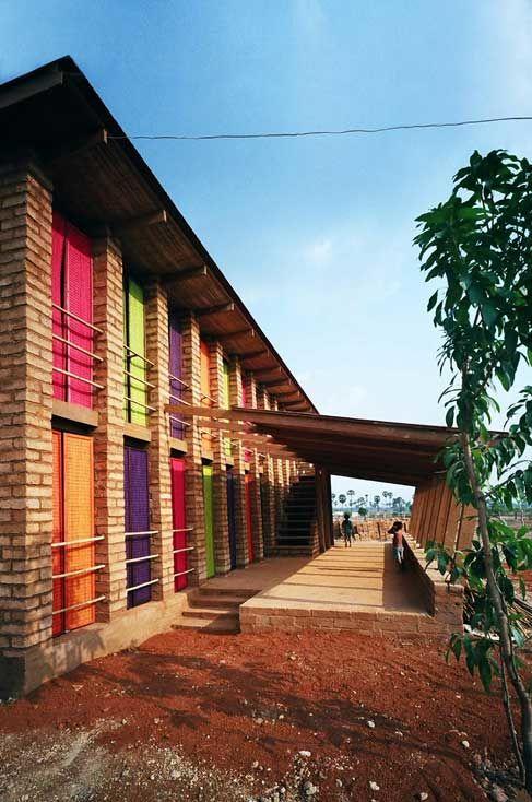 Architects Rudanko + Kankkunen, Sra Pou Schule, Sra Pou/Kambodschia