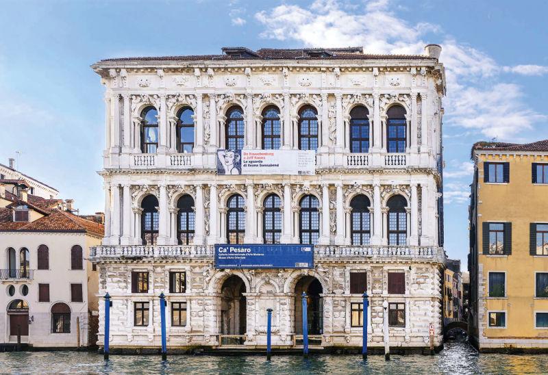 Ca'Pesaro am Canal Grande in Venedig