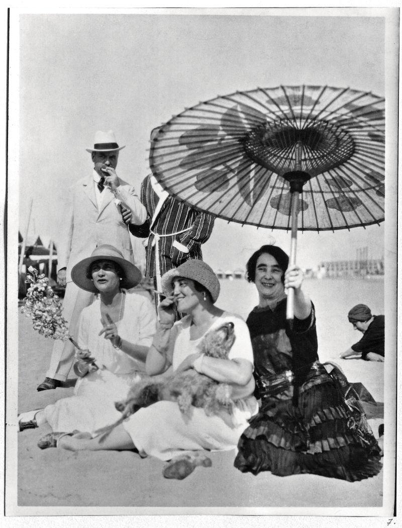 Coco Chanel Fotografie in Venedig