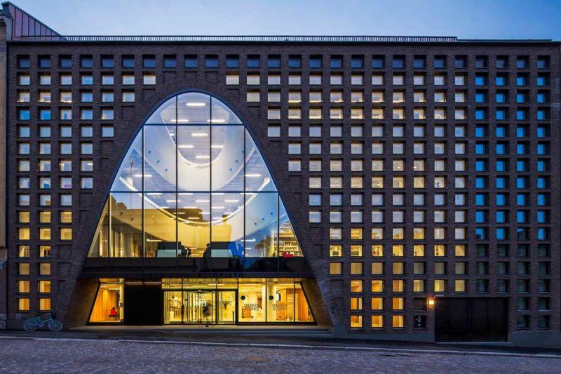 Anttinen Oiva Architects, Kaisa-Haus, Universitätsbibliothek, Helsinki