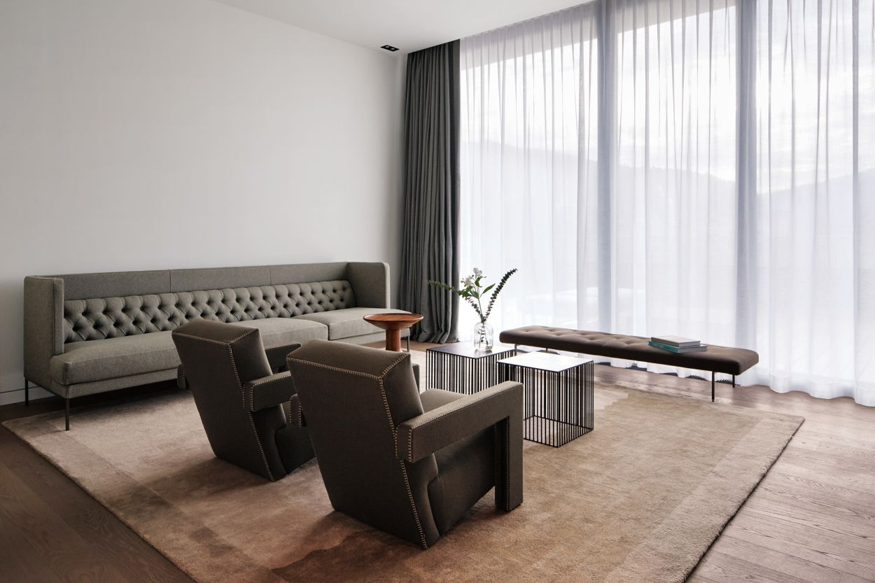 Piero Lissoni, Roomers, Living Divani, Rietveld