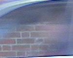 Acercamiento imagen de video entrelazada