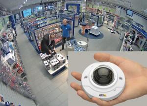 Cámara Axis M3006-V brinda cobertura de 134° en calidad HDTV