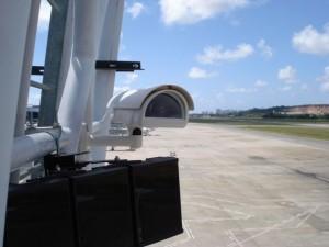 Cámara Axis en Aeropuerto Guararapes, Recife