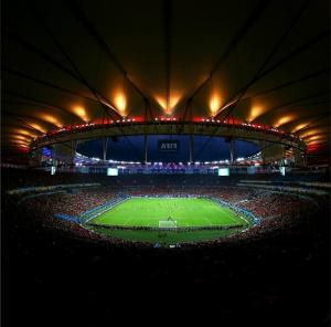 Estadio Maracana durante el Mundial Brasil 2014 es monitoreado por 267 cámaras Axis
