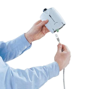 Conectando un cable UTP en una cámara IP