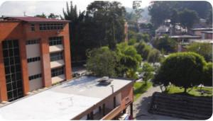 Vista general del campus