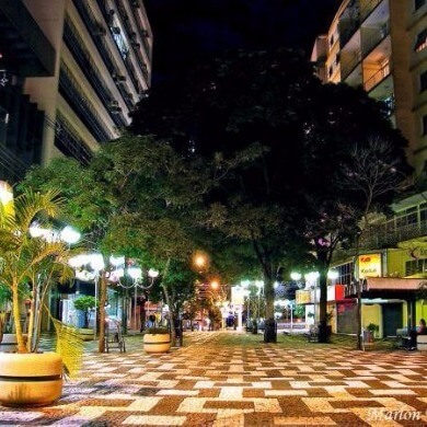 Comodidades no Centro da Cidade