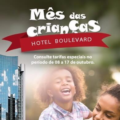 Mês das Crianças Hotel Boulevard