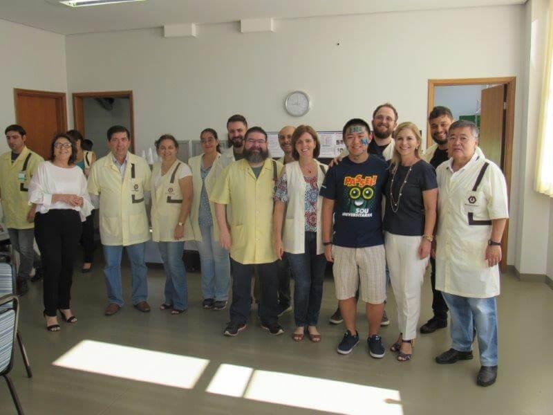 Aprovado em 6 vestibulares de Engenharia visitou o Colégio