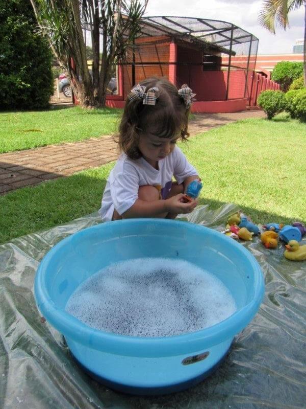 Nível I AV participou de experiência sensorial na Fazendinha
