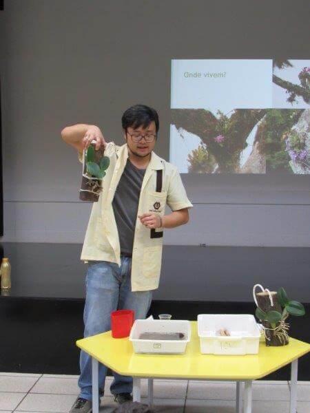 Nível IV teve palestra sobre orquídeas