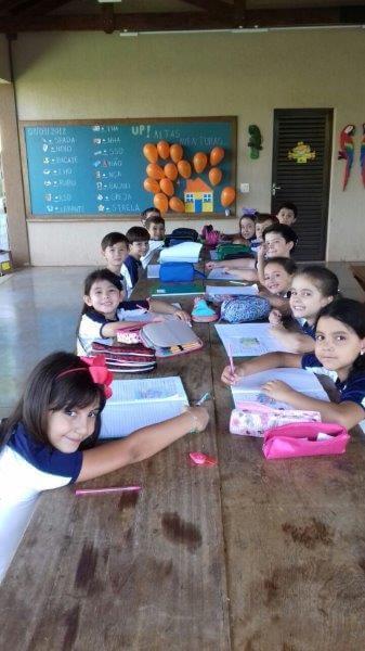 1º ano (ACV) participou de atividade na Fazendinha
