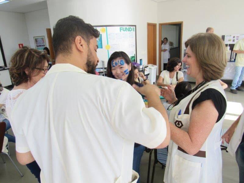 Festa para alunos da 2ª série aprovados em vestibulares