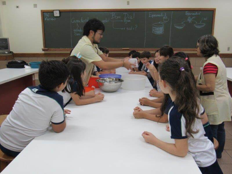 Aula diferente de Ciências no 2º ano