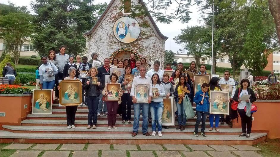 APOSTOLADO DA UNIÃO DE FAMÍLIAS NA CAMPANHA DA MÃE PEREGRINA