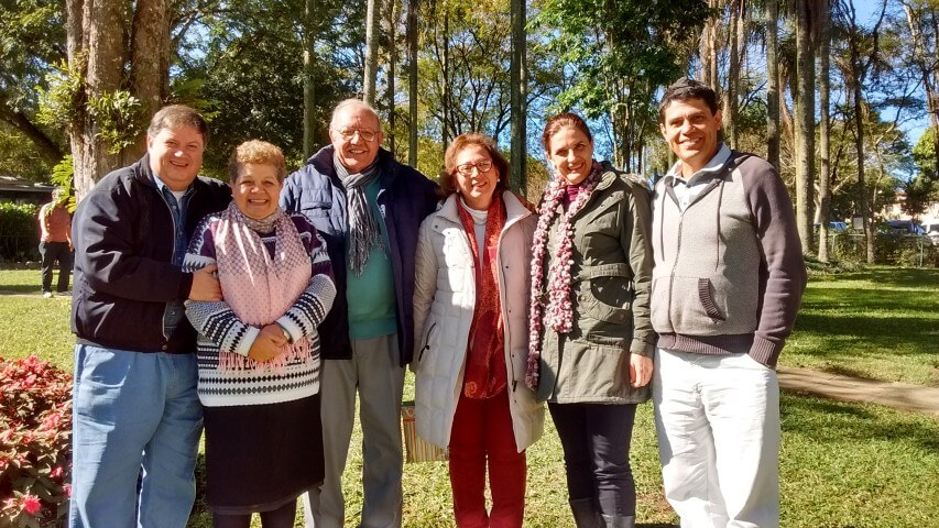 Reunião de casais da Direção Internacional no  Santuário de