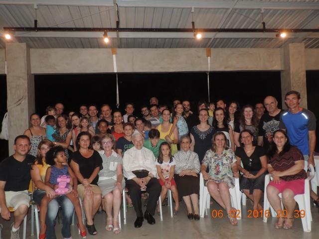 Celebração dos 80 anos de vida do Padre Ottomar Sc