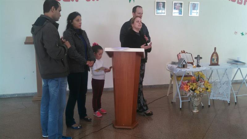 APOSTOLADO UNÃO DE FAMÍLIAS NA CAMPANHA DA MÃE PER