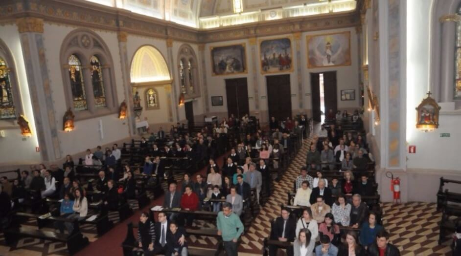 Celebração dos 75 anos da Obra das Famílias em Santa Maria