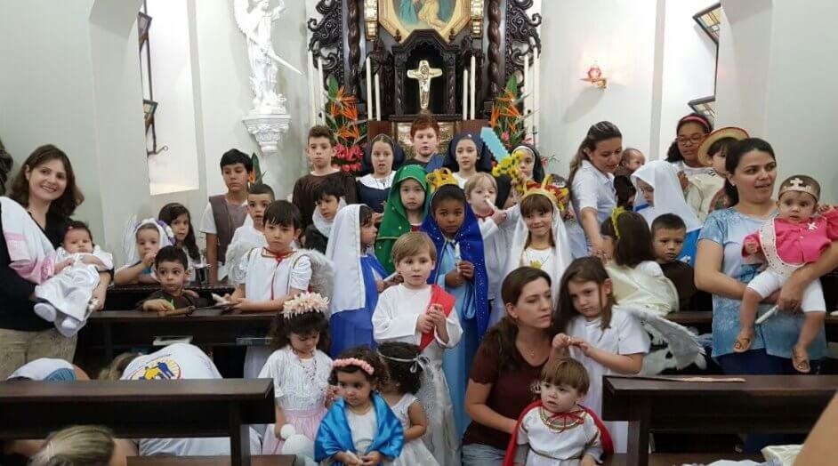 1ª. Festa de Todos os Santos e Anjos