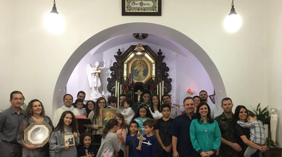 XXV Curso da União de Famílias institui Santuário Lar.