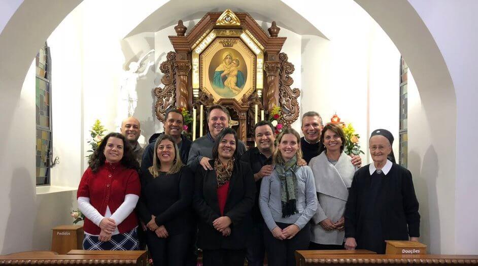 ENCONTRO XIII CURSO UNIÃO DE FAMILIAS/SP