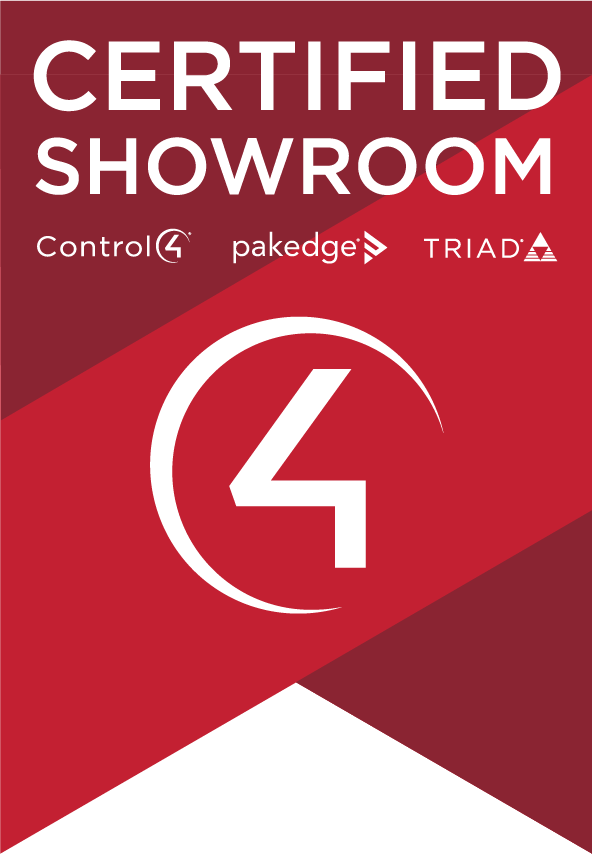 Control4 Certified Showroom Badge