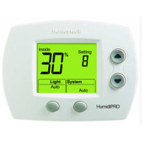 H6062A1000 - Honeywell HumidiPRO Digital Humidistat/Dehumidistat w/ Outdoor Air Sensor for Window Protection
