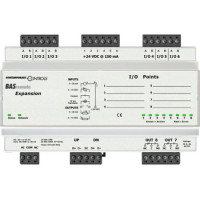 BASR-8X Contemporary Controls BAS Remote Expansion, 6 Universal I/O + 2 Relay