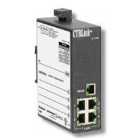 EIPR-E Contemporary Controls Ethernet IP Router with Four-port Switch