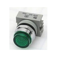 APW199D-G-24 IDEC Pilot Light Switch, LED Green, 24VAC