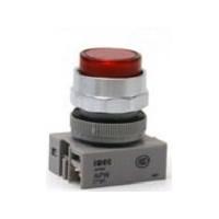 APW199D-R-24 IDEC Pilot Light Switch, LED Red, 24VAC
