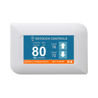 ENTOUCH ELITE - Full size touchscreen commercial controller, up to 3 stages heat/cool