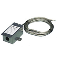 TE-707-B-7-C-2 - Duct Avg.Temp Sensor, 24' Armored Cable, 10K NTC Type 3, Galvanized Steel Enclosure