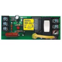 ESRM2402SB - UL924 Panel Relay 20Amp SPST + Override 24Vac/dc/2