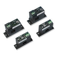 CU-855 -Split-core Current Sensor, Selectable 10 / 20 / 50 amps, 0 - 5 VDC Output