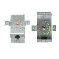 TE-704-C-12 - Strap-on Temperature Sensor, 10K NTC Type 2, Galvanized Steel Enclosure