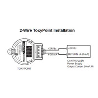 TP1-M - Honeywell Analytics Disposable 2-Wire 4-20mA Carbon Monoxide (CO) Transmitter