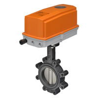 "F6150HDU+DRX24-MFT-T - Belimo 6"" 2-Way Non-Spring Return Butterfly Valve"
