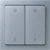 LBJ-4CH-ALU-902 - Switch - EnOcean - 4-channel Switch,Lighting,Aluminium