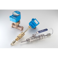 "SDI-0H1N00-0200 - Badger NEMA 4X SS, 1.5"" to 10"" Insertion Hot Tap Flow Sensor, Frequency Pulsed Out, No Display"