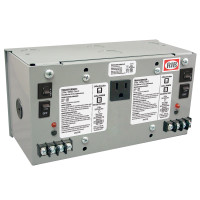PSH100A100A-IC - UL508 Enclosed Dual 100VA 120 to 24Vac UL class 2 power supply